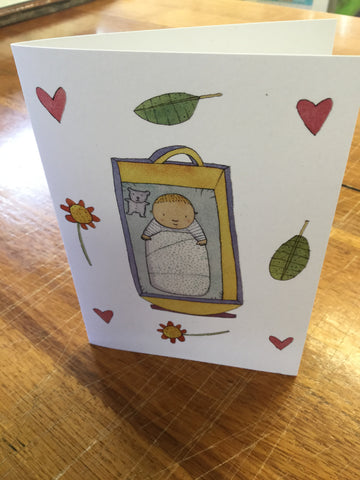 Baby Tom card