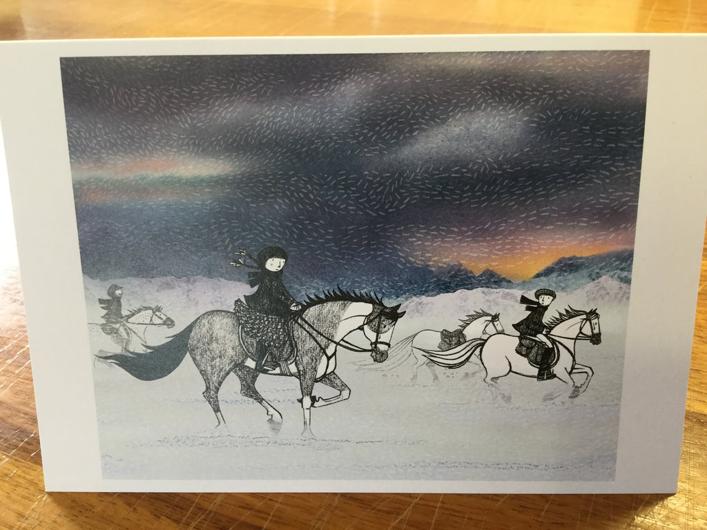 Running with the Horses cover card
