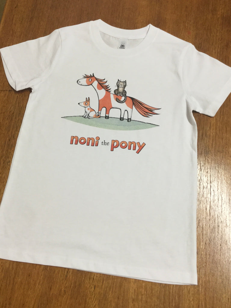 Noni the Pony youth tee size 10