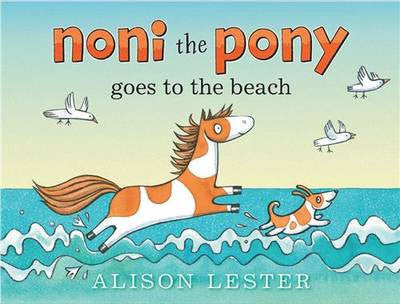 Noni the Pony goes to the beach (boardbook)