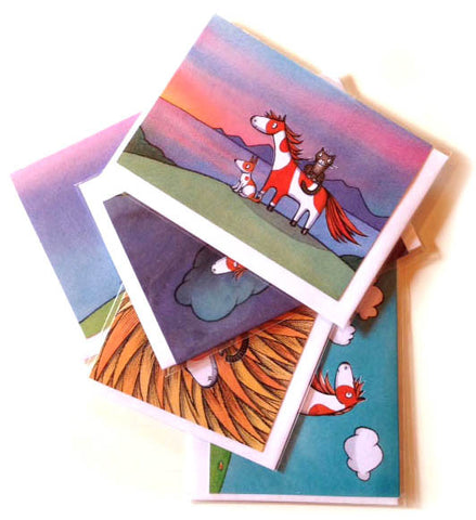 Noni the Pony set of 6 cards