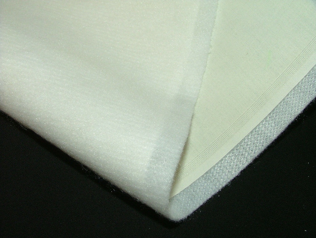 10 Metre Roll Of Bonded Interlining With 100% Ivory Sateen Curtain Lining