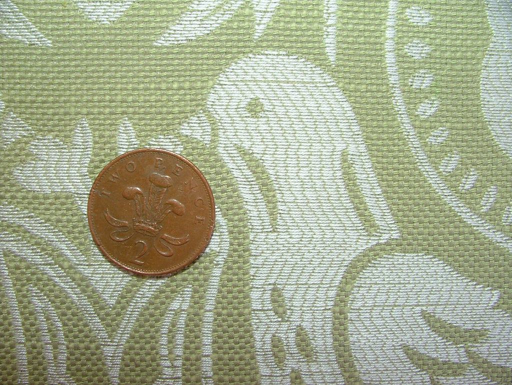 iLiv Arts & Crafts Song Thrush Bird Woven Fabric Curtain Upholstery Cushion