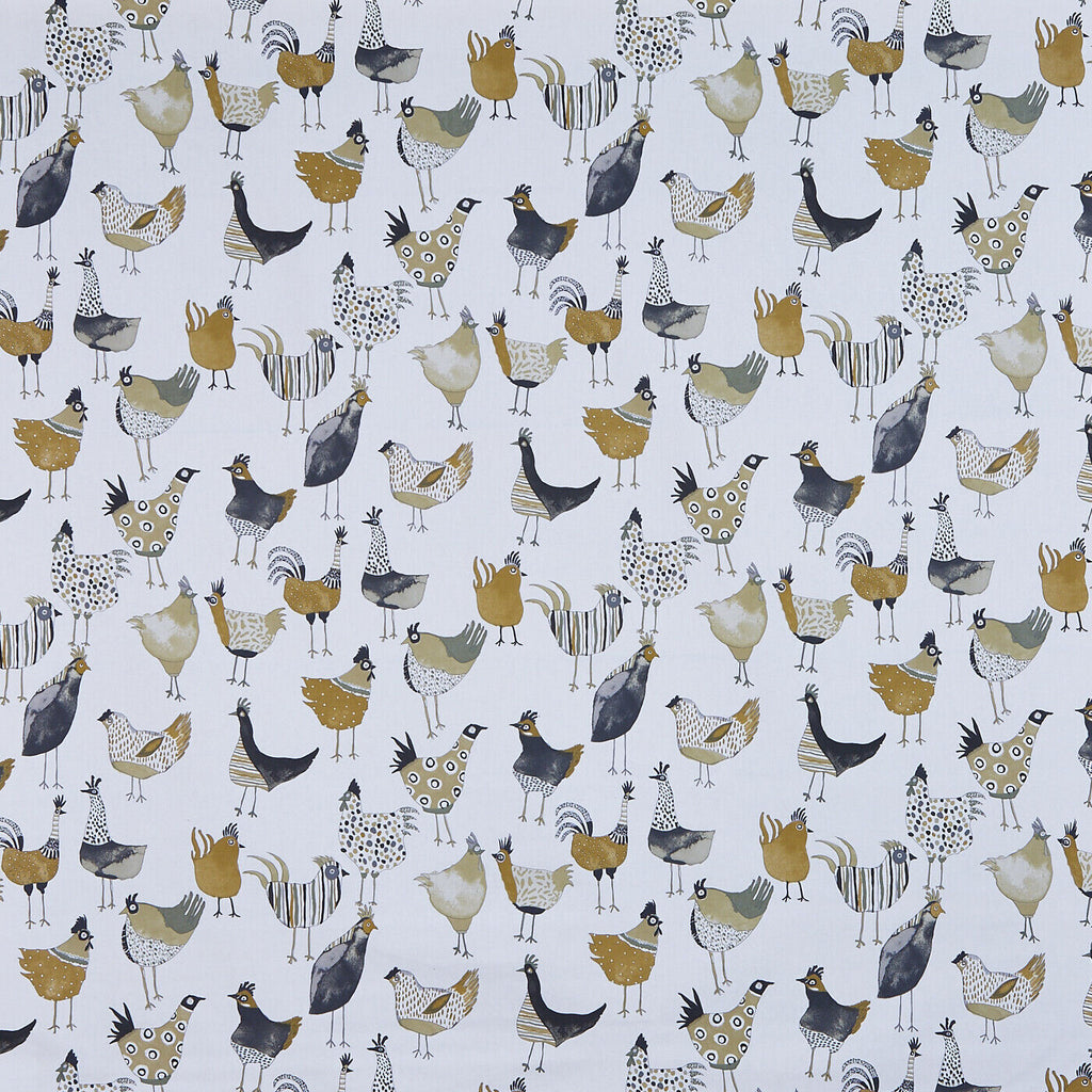 Prestigious Harriet Hens Chicken Fabric Curtain Upholstery Roman Blind Cushion