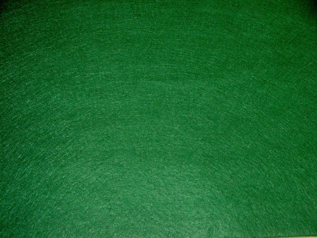 "10 Yards (180"" by 72"") Green Baize / Felt Craft Fabric Card Poker Table"