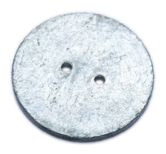Sold in packs of 10 buy as needed! 25mm x 13g Lead Penny Curtain Weights