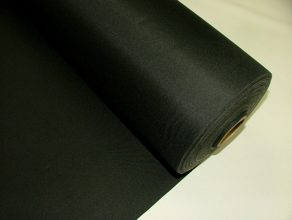 BLACK 3 Pass Black Out Blackout Material Thermal Curtain Lining Fabric 137cm