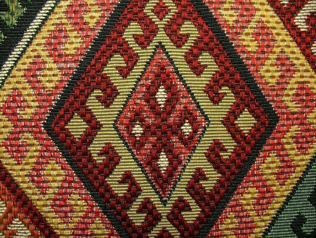 Persian Empire Kilim Extra Thick Tapestry Fabric Curtain Upholstery Cushion Use
