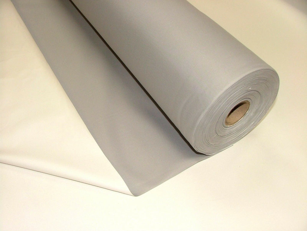 GREY 3 Pass Black Out Blackout Material Thermal Curtain Lining Fabric 137cm