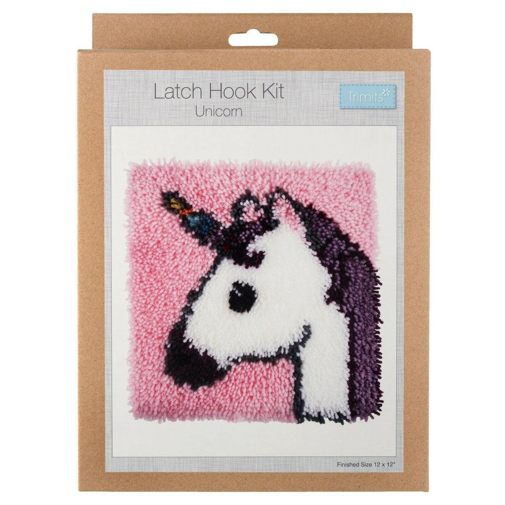 Trimits Beginners Latch Hook Kit Craft Project - Many Designs To Choose From