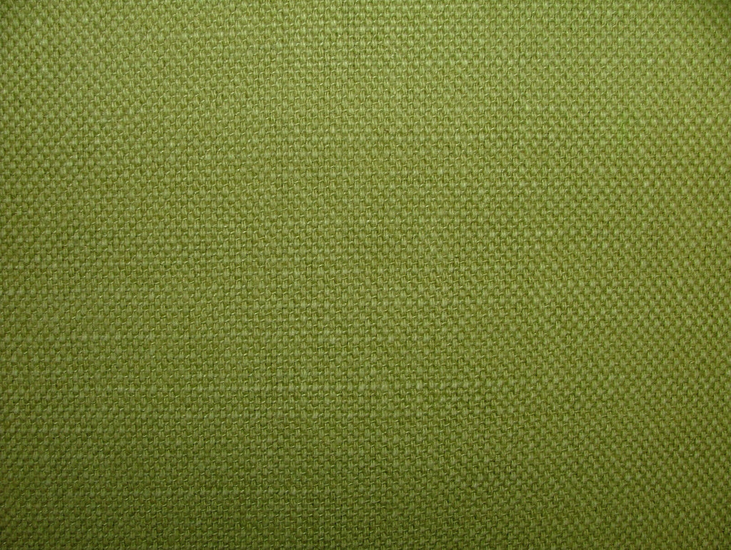 Romo Villa Nova Geneva Kiwi Green Linen Union Fabric Curtain Upholstery Cushion