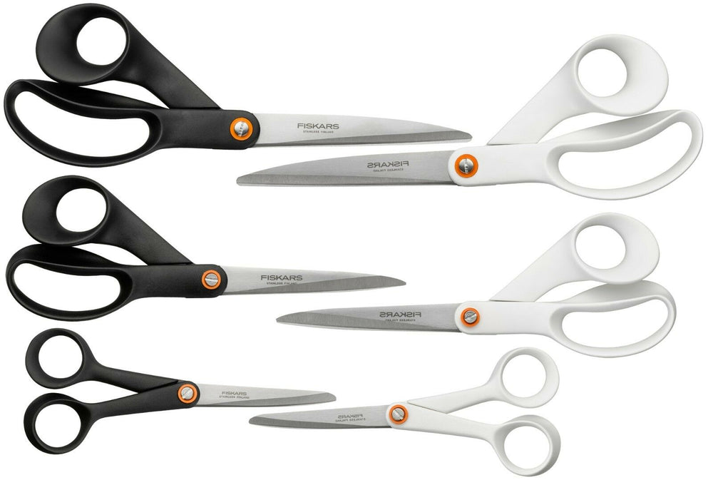"Brand New Genuine Fiskars ""Functional Form"" Scissors - Choose From Wide Range"