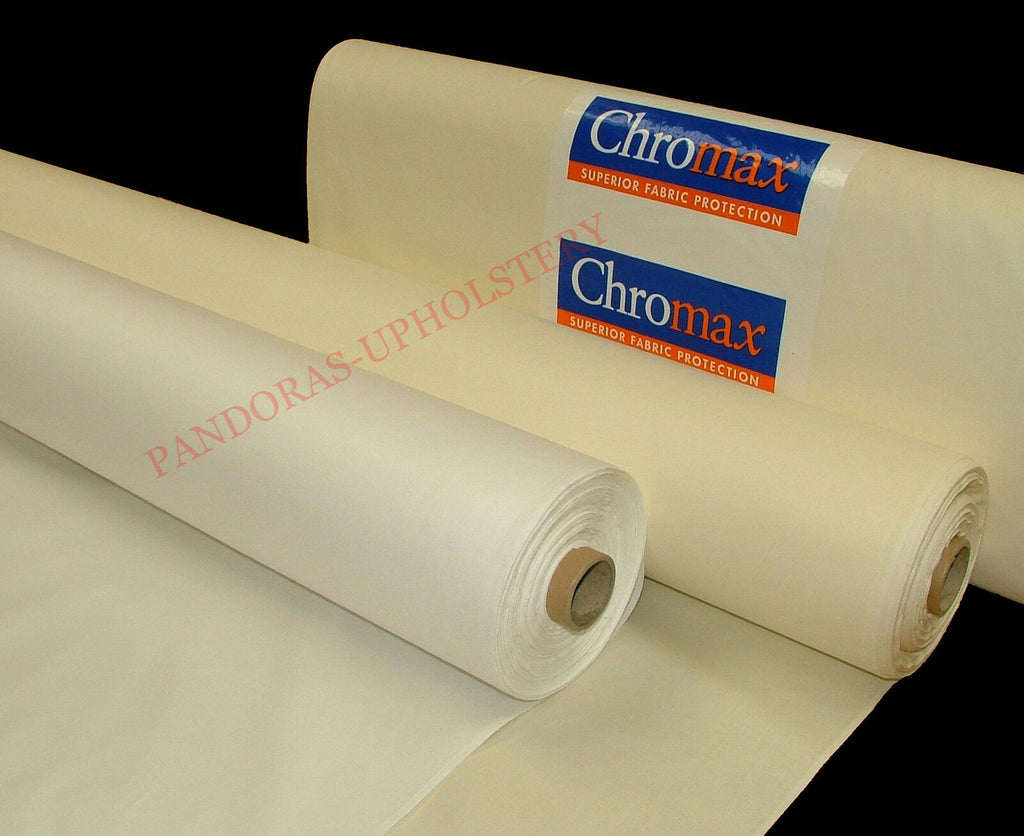 100% Total Blackout & Thermal Cream Curtain Fabric Lining SOLD BY THE METRE