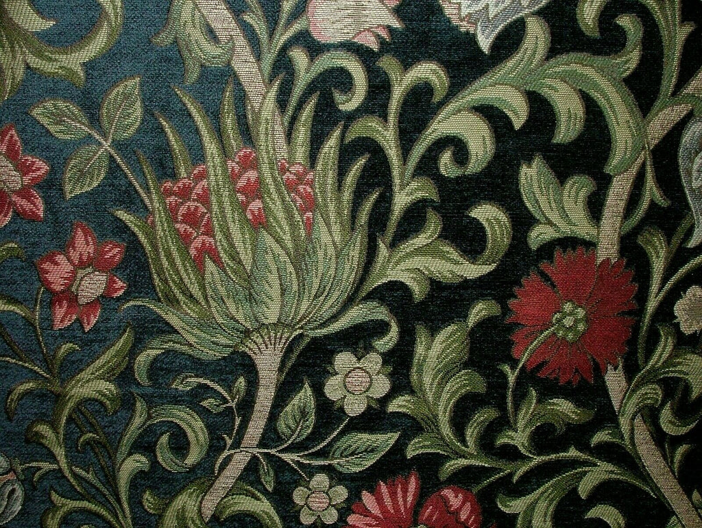 Chalfont Jewel Arts And Crafts Chenille Curtain Upholstery Cushion Use Fabric