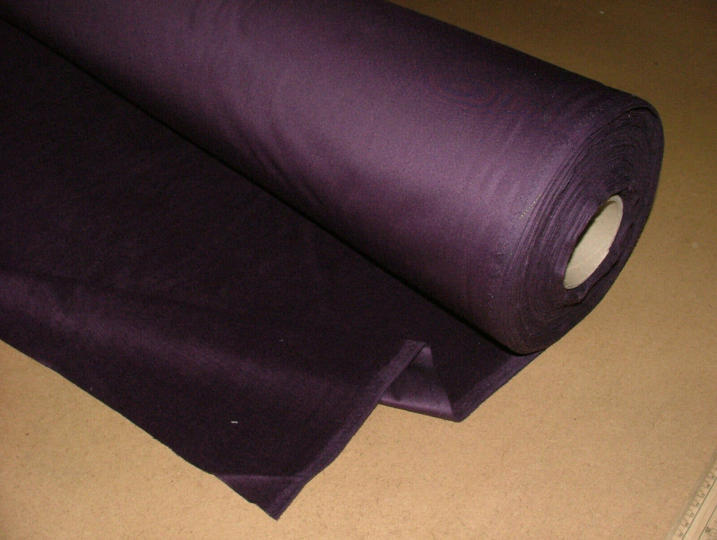 33 Metres Daytona Purple Velvet Fabric Curtain Upholstery Settee Cushion Use