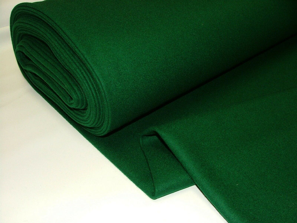 80% Wool High Quality Green Baize Fabric To Recover Playing Card Bridge Tables