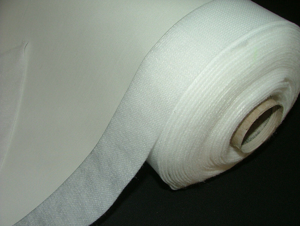 Bonded Interlining With 3 Pass Blackout Thermal Curtain Lining Ivory And White