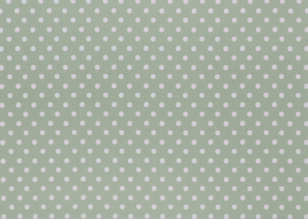 Button Spot Aloe Curtain Upholstery Cushion Fabric Volume 1 By Cath Kidston