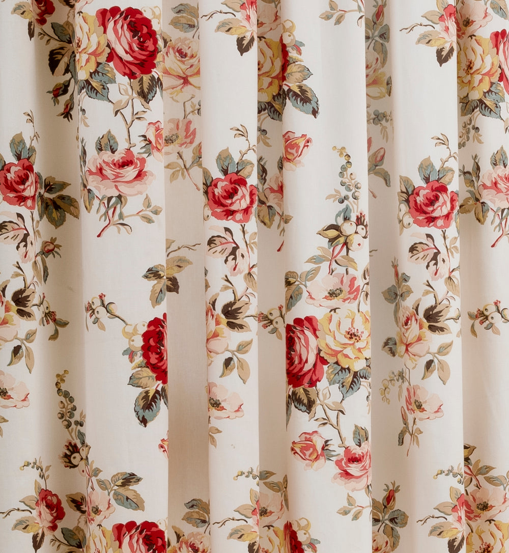 Garden Rose Multi Lined Ready Made Curtains By Cath Kidston