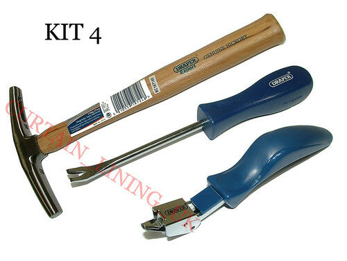 Upholstery Tools Needles & Kits - Webbing Stretcher Tack Lifter Staple Hammer