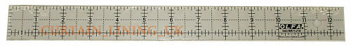 Olfa Non Slip Frosted Patchwork Ruler Various Sizes - Widest Range Available!