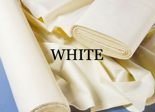 Cotton Sateen Curtain Lining Sold By The Metre - Choose Your Colour