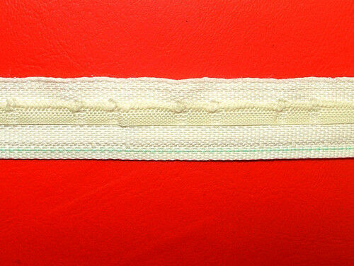 Rufflette In Home Curtain Fabric Header Heading Tape - Buy Any Amount You Need