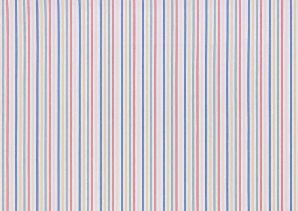 Mid Stripe Chalk Curtain Upholstery Cushion Fabric Volume 1 By Cath Kidston
