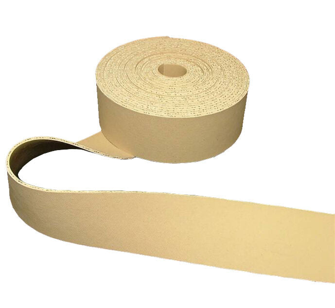 "50m 2"" Wide Beige Pirelli Upholstery Rubber Webbing Ercol Chair Settee Furniture"