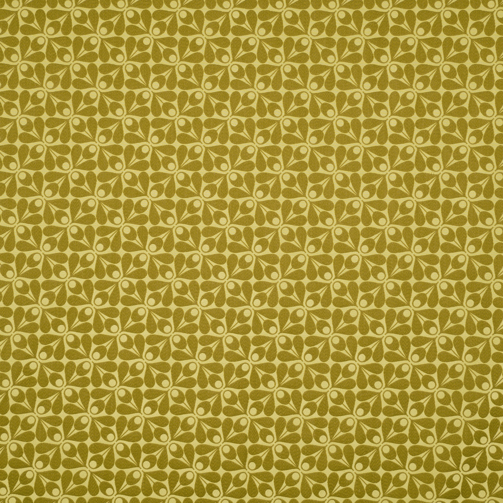 Woven Acorn Cup Yellow Olive Curtain Upholstery Cushion Woven Fabric Volume 1 By Orla Kiely