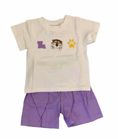 Tigers Shorts Set