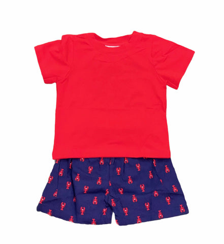 Crawfish Shorts set