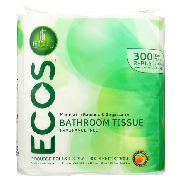 Earth Friendly Treeless Toilet Paper - 40 total rolls