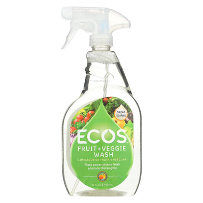 Earth Friendly Fruit And Vegetable Wash