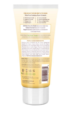 Babo Botanicals - Soothing Diaper Cream - 3 Oz