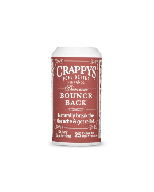Bounce Back Chewable Hemp Tablets