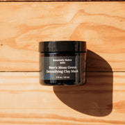 Men's Mean Green Detoxifying Mask - Meeschell
