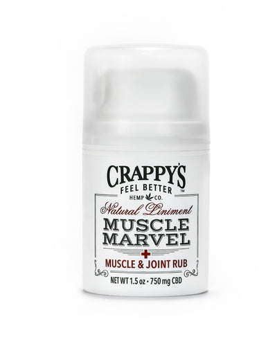Muscle Marvel Natural CBD Muscle & Joint Liniment - Fragrance Free
