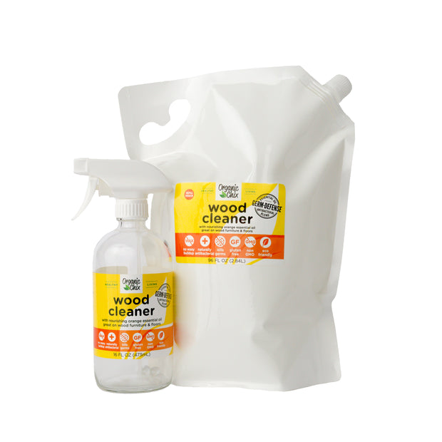 Wood Floor and Surface Cleaner 96oz Refill Pouch