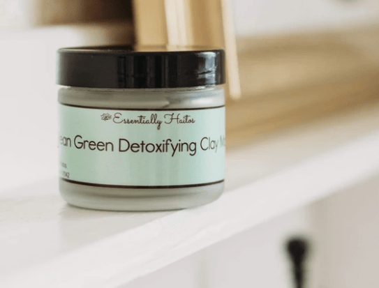 Mean Green Detoxifying Clay Mask - Meeschell