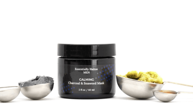 Men's Calming Charcoal & Seaweed Mask - Meeschell