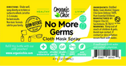 No More Germs Cloth Mask Spray