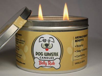 Belly Rub - Relaxing * Sleep Enhancing * Comforting Aromatherapy Candle