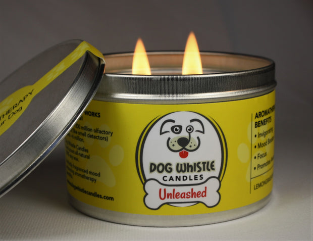 Unleashed - Invigorating * Mood Booster * Focus * Promotes Awareness - Aromatherapy Candle