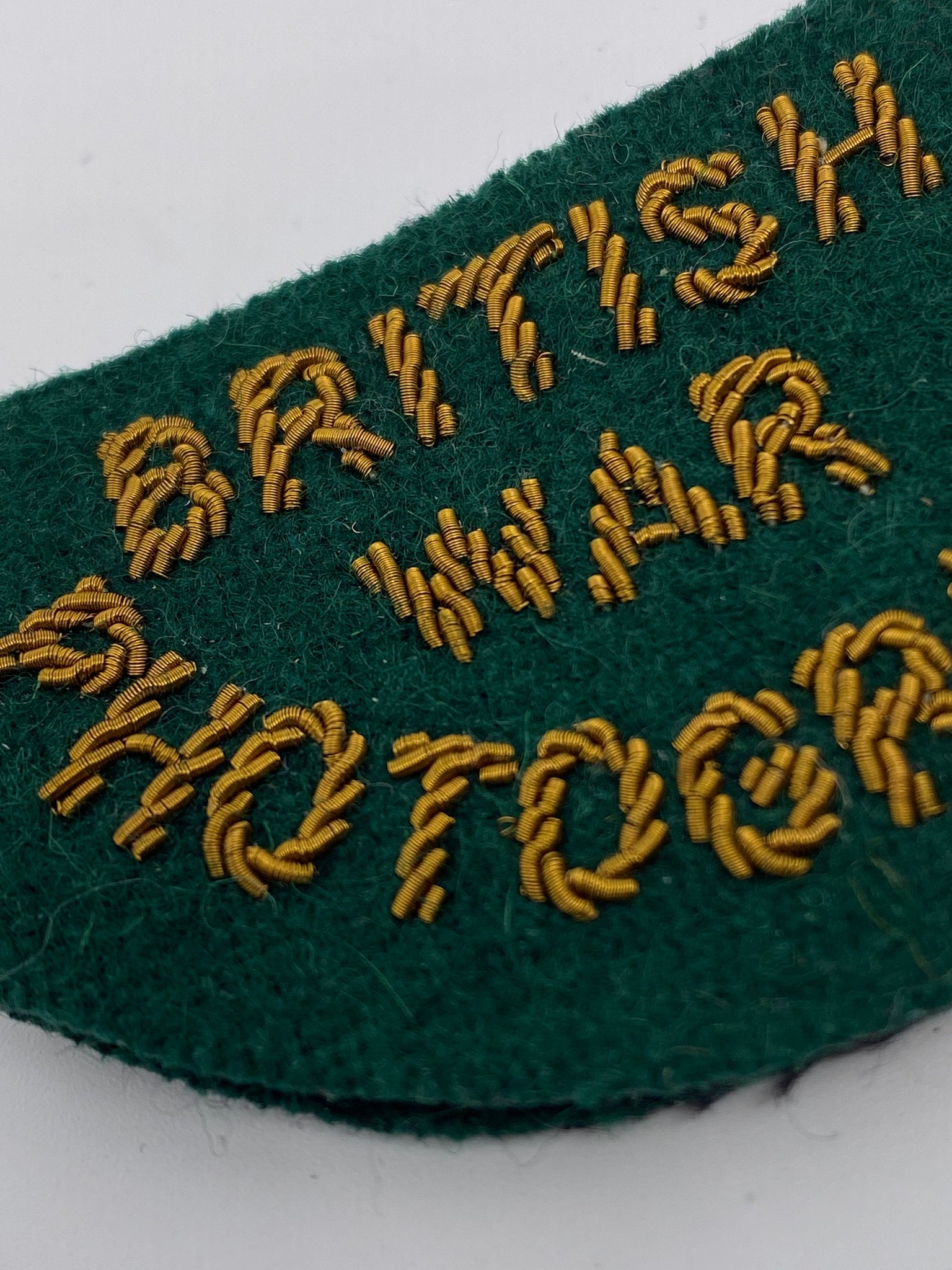 British War Photographer WWII authentic military patch for war journalists - reporters, deadstock never worn. - viceversashop