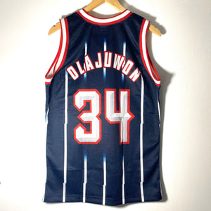 NBA Champion Jersey no 34 Rockets Olajuwon  NOS 90s with tags sz S - viceversashop
