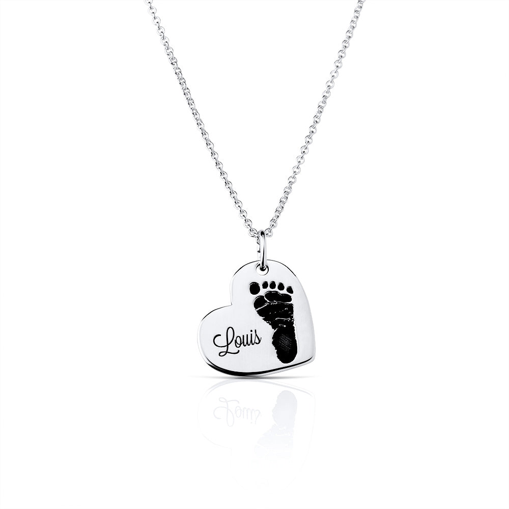 Always on my Heart - Necklace with one Print