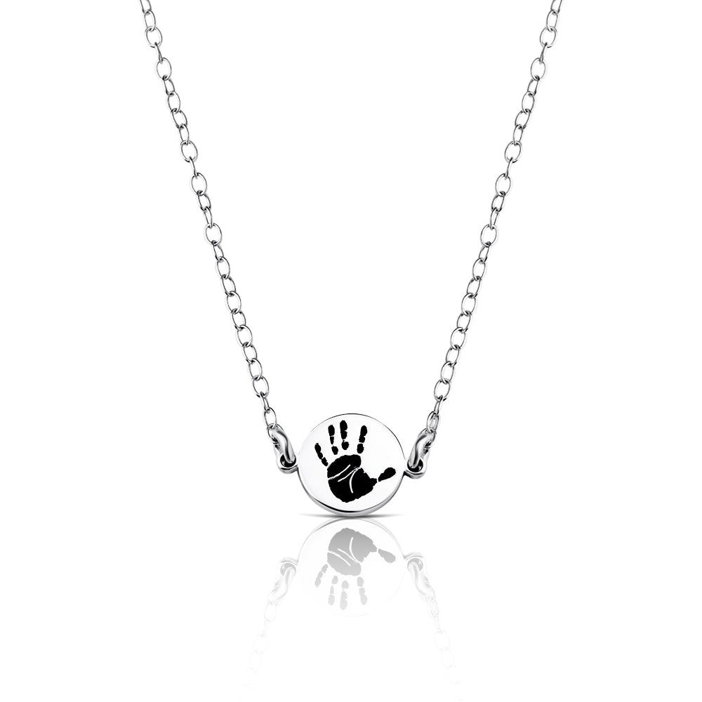 Lucky Charm - Hand or Footprint Necklace