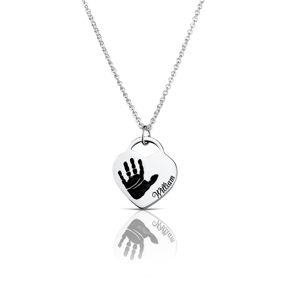 Sevoly Memories - Footprint or handprint necklace