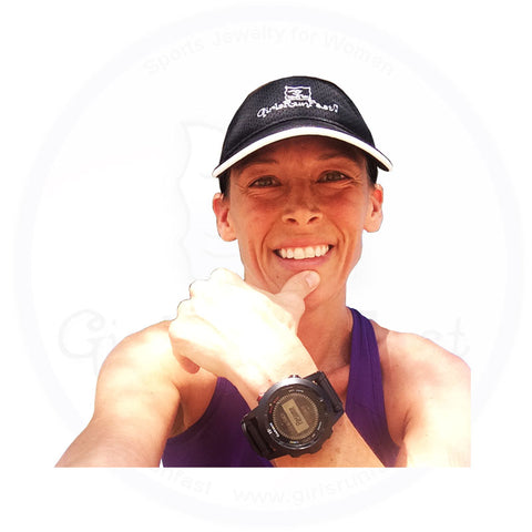 GirlsRunFast.com - Jewelry for runners - Women's Running Visors